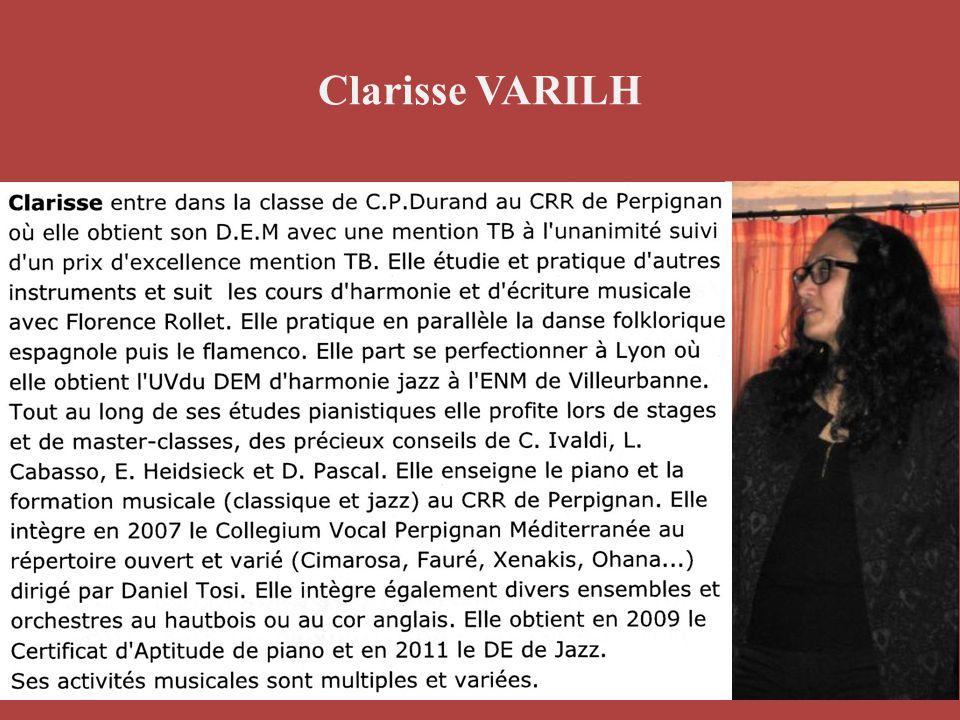 Clarisse VARILH