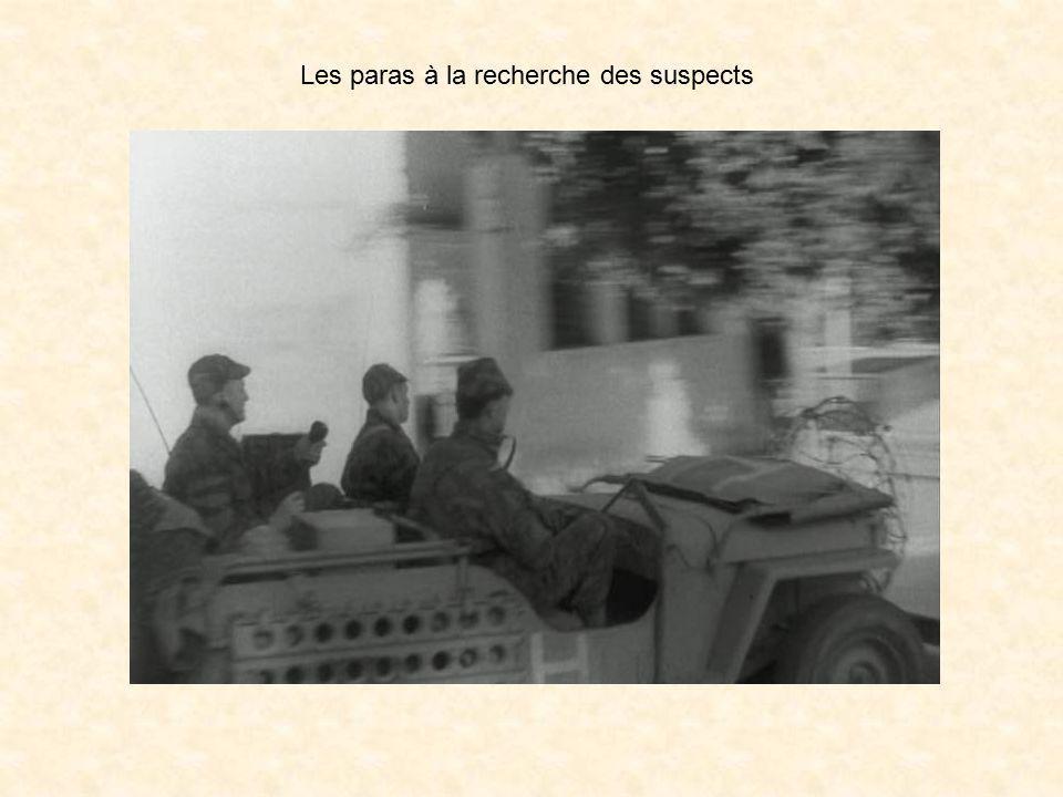 Les choses ne traînaient pas, aucun rideau de fer ne résistait à une traction exercée par un camion militaire ( le bon vieux G.M.C. ) démarrant en mar