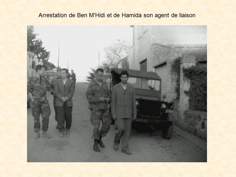 Ben M'Hidi, était membre du comité de coordination et d'exécution. Il était un des chefs FLN en Oranie. « Les succès » dans cette région, l'avaient dé