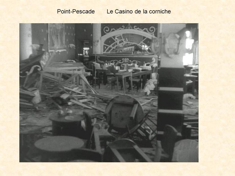 Le dimanche 9 juin, c'est la Pentecôte, il est 18 ou 19 heures : Le téléphone m'apprend qu'une bombe a éclaté au casino de la Corniche, Le spectacle q