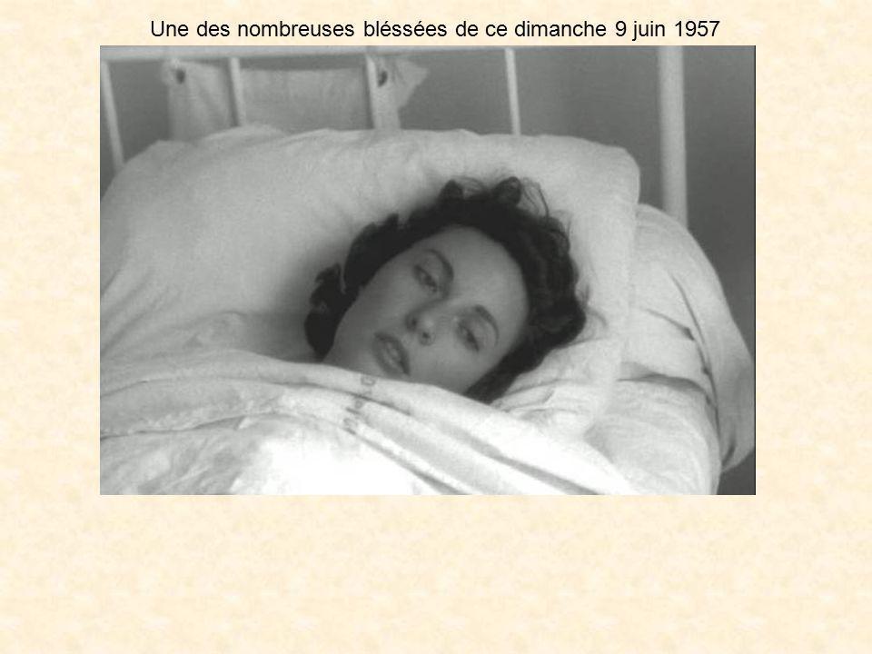 Le 11 juin 1957, les obsèques des victimes sont l'occasion de violentes manifestations. Une grève inopinée est respectée par la population française d
