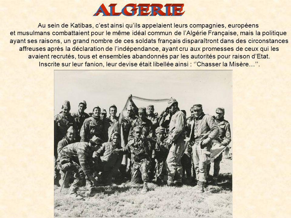 Le Capitaine Grillot, ancien officier du 3è Régiment de Parachutiste Coloniaux du Colonel Bigeard avait persuadé celui-ci de le laisser créer, sous la