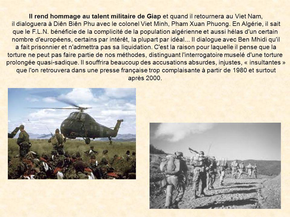 Bigeard va en Algérie à de multiples reprises, cette fois comme chef de corps du 3ème RPC, le Régiment Bigeard, appartenant à la non moins fameuse le'
