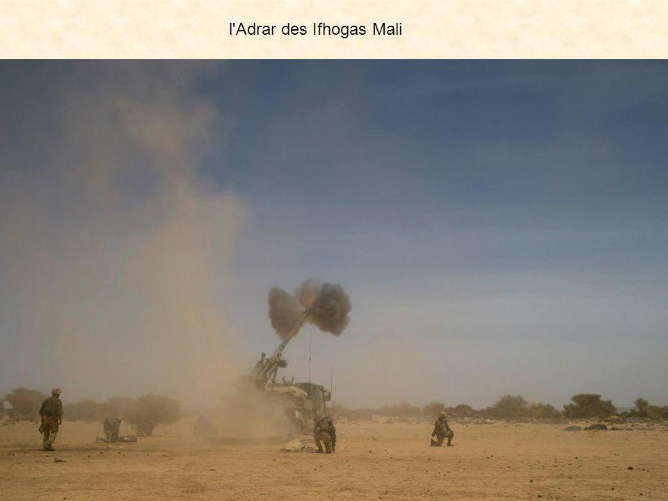 l'Adrar des Ifhogas Mali