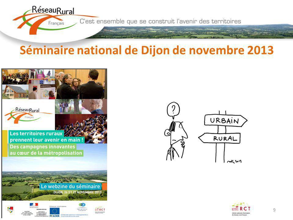 9 Séminaire national de Dijon de novembre 2013
