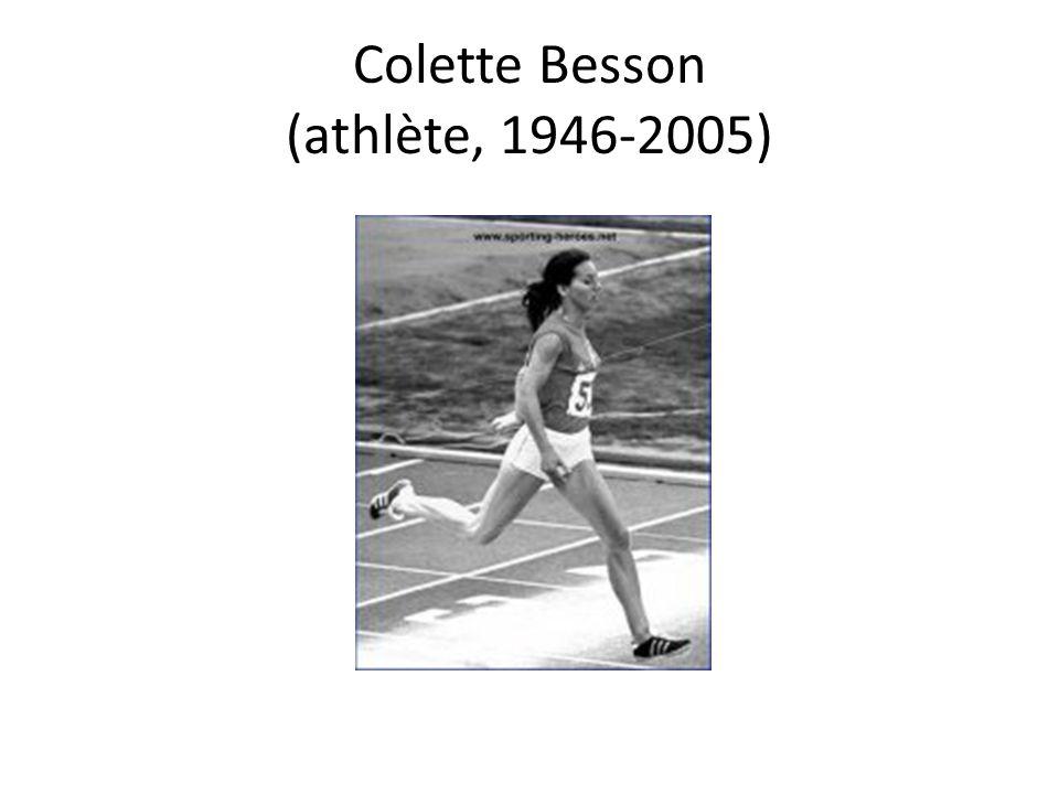 Colette Besson (athlète, 1946-2005)
