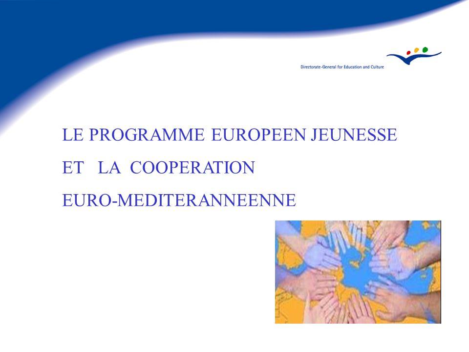 LE PROGRAMME EUROPEEN JEUNESSE ET LA COOPERATION EURO-MEDITERANNEENNE