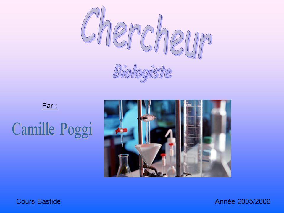 Par : Cours Bastide Année 2005/2006