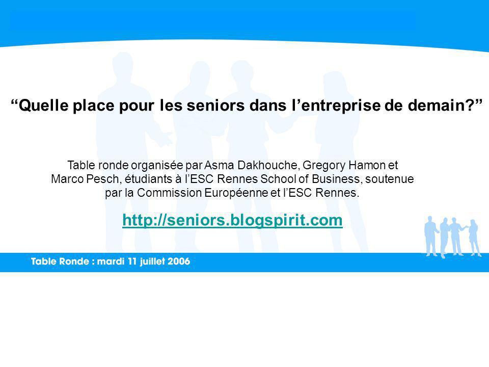 Table ronde organisée par Asma Dakhouche, Gregory Hamon et Marco Pesch, étudiants à lESC Rennes School of Business, soutenue par la Commission Européenne et lESC Rennes.