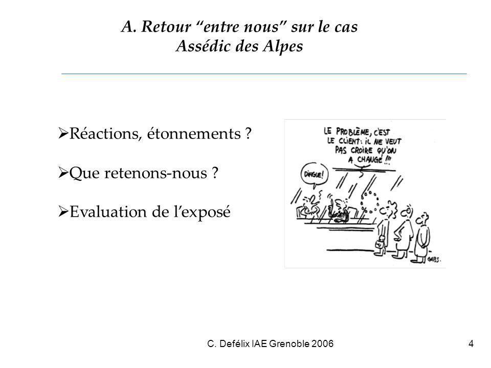 C. Defélix IAE Grenoble 20064 A.