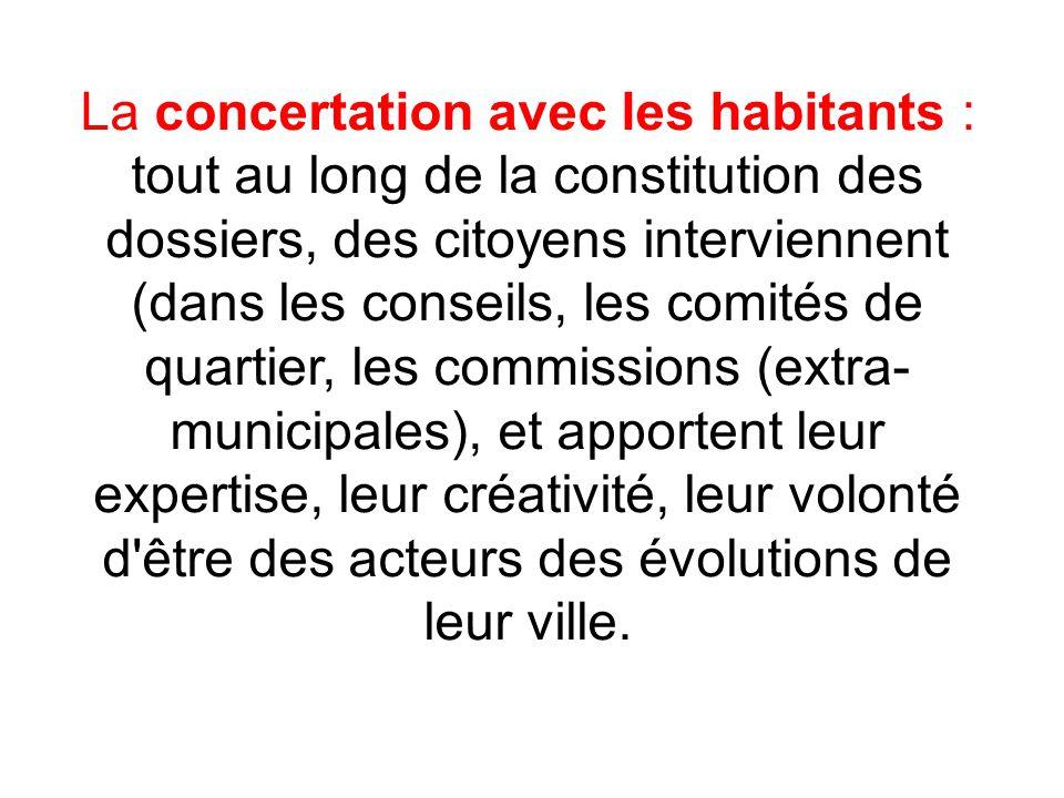 La participation des habitants c est le partage du pouvoir municipal, et la co-décision.