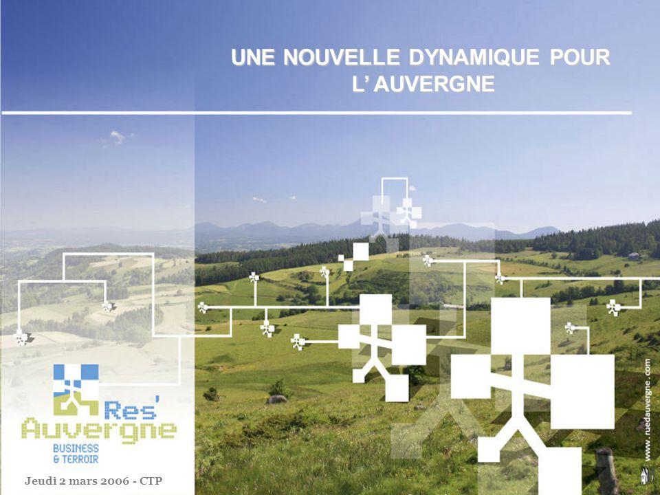 RésAuvergne est une association de professionnels de tous horizons, partageant un objectif commun : le développement de leur région lAuvergne.