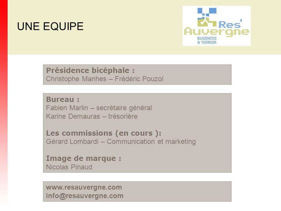 UNE EQUIPE Bureau : Fabien Marlin – secrétaire général Karine Demauras – trésorière Les commissions (en cours ): Gérard Lombardi – Communication et ma