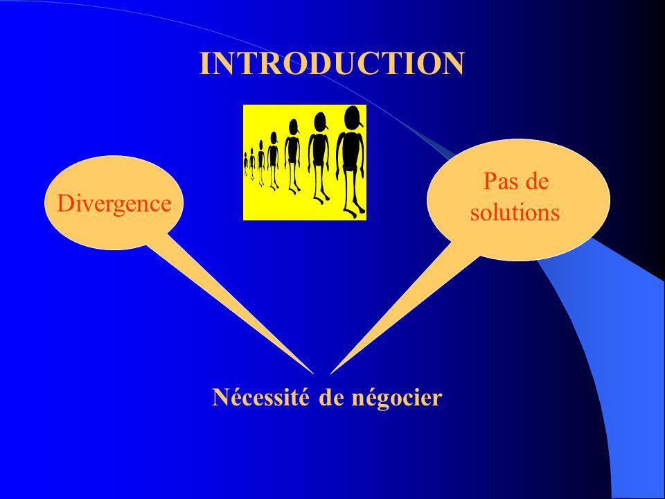 LA NÉGOCIATION NÉGOCIATION SOCIALE NÉGOCIATION COMMERCIALE