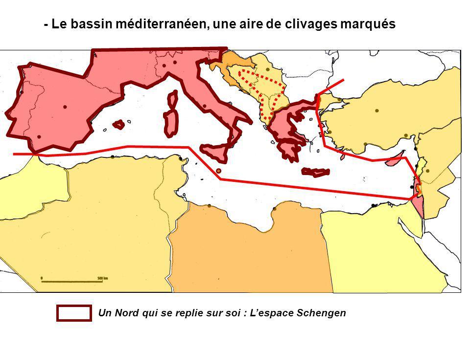 Un Nord qui se replie sur soi : Lespace Schengen