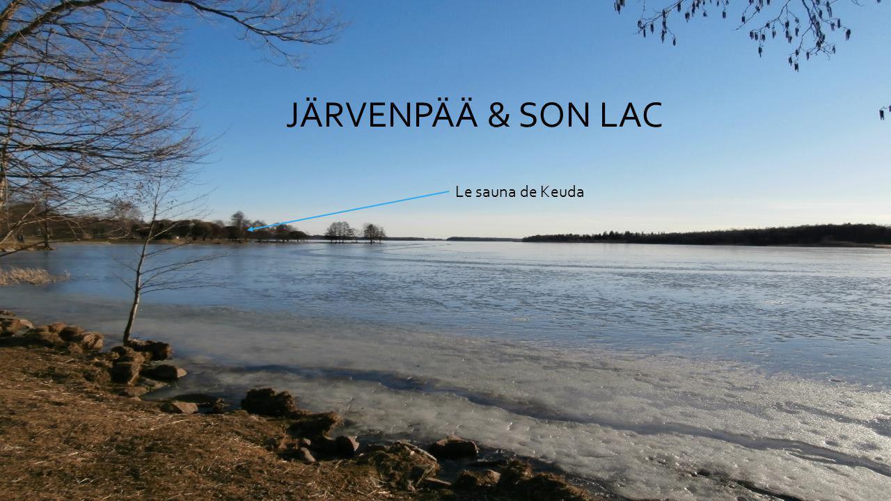 JÄRVENPÄÄ & SON LAC Le sauna de Keuda