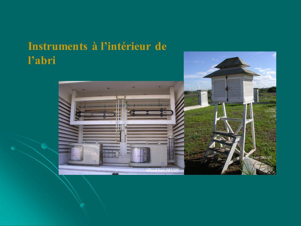 Température : Température : Le thermomètre est sans aucun doute l instrument météorologique le plus utilisé.