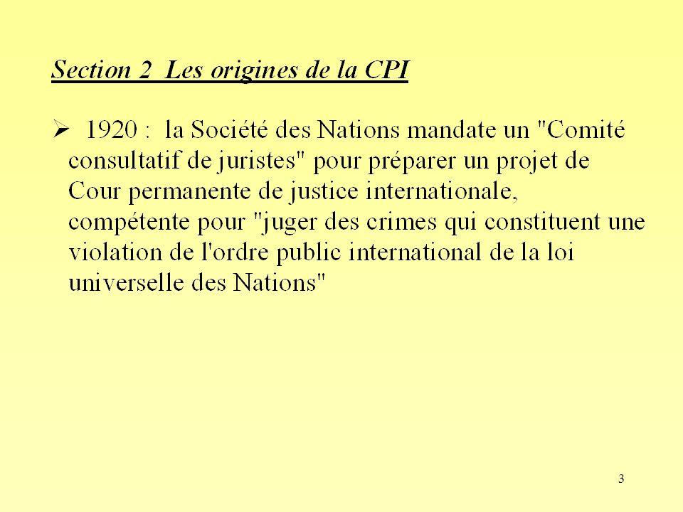 24 Ch VI- Section 5 Compétence ratione materiae