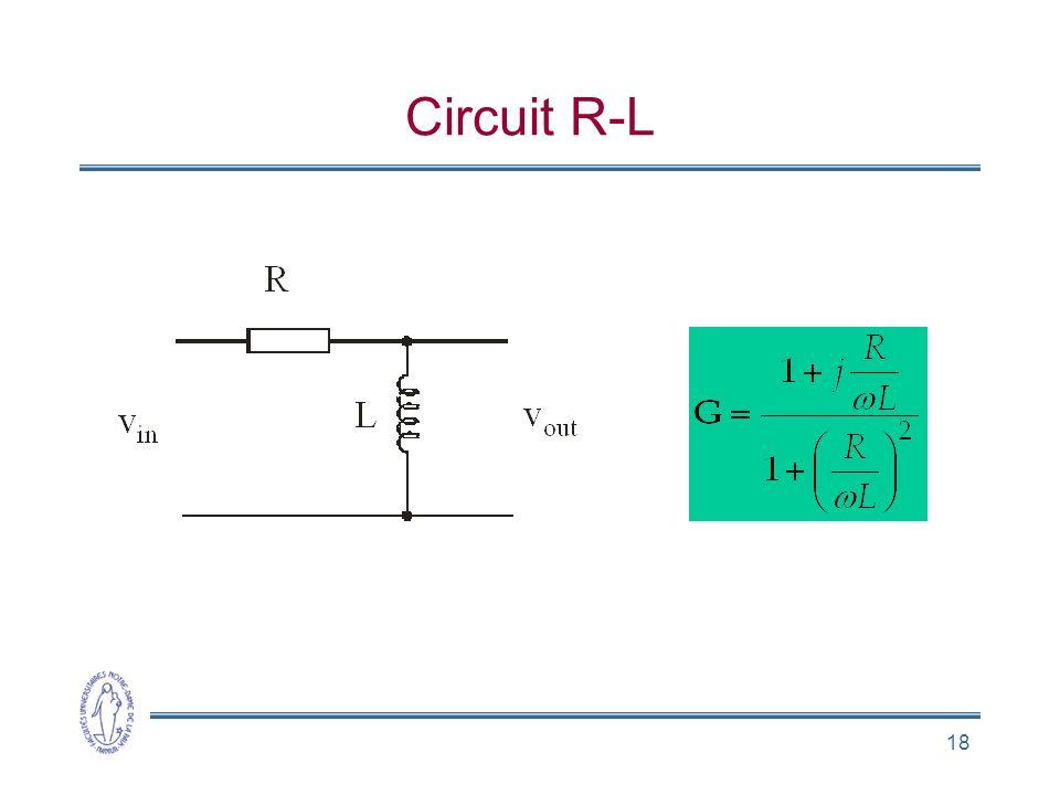 18 Circuit R-L