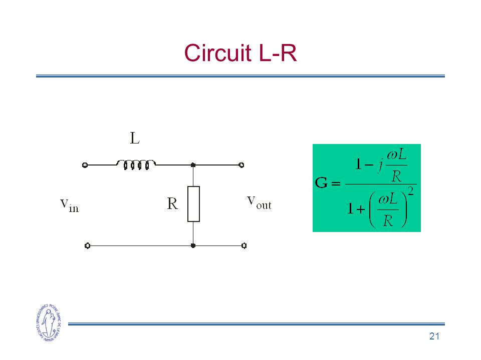 21 Circuit L-R