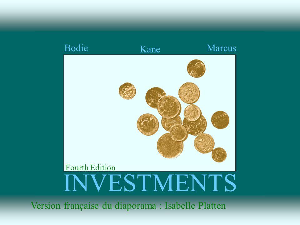 The McGraw-Hill Companies, Inc., 1999 INVESTMENTS Fourth Edition Bodie Kane Marcus Irwin/McGraw-Hill L Environment financier financier Chapitre 1 1-1