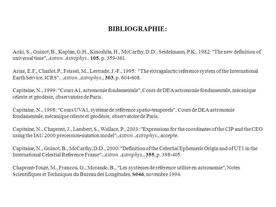 Aoki, S., Guinot, B., Kaplan, G.H., Kinoshita, H., McCarthy, D.D., Seidelmann, P.K., 1982: