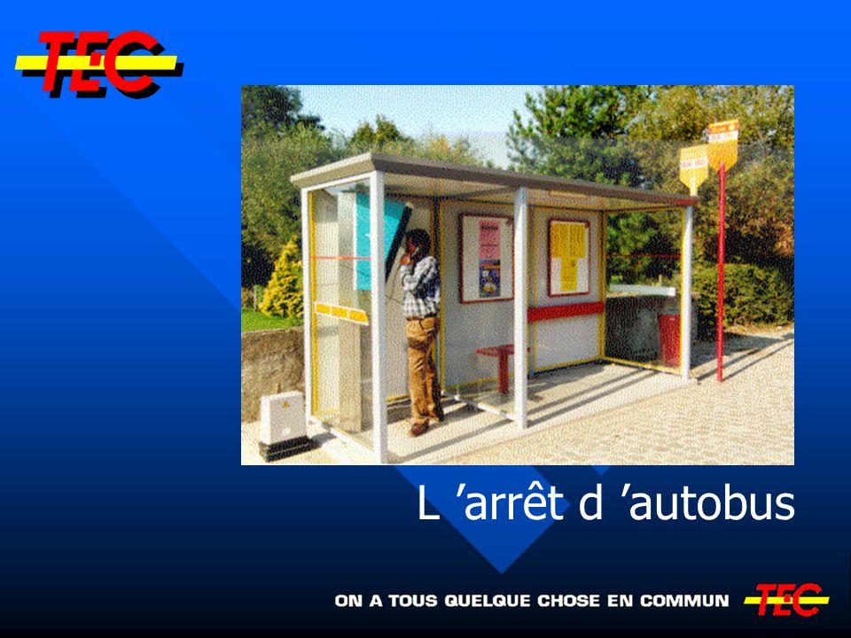 L arrêt d autobus