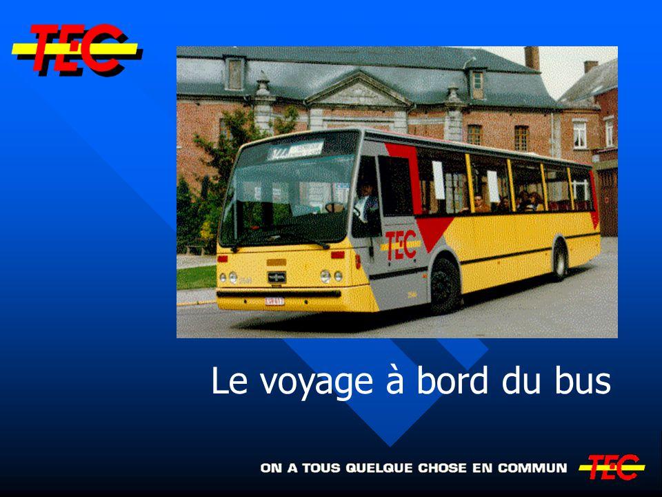 Le voyage à bord du bus