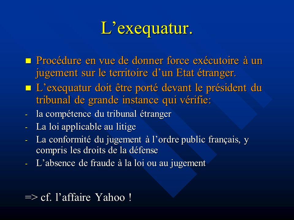 Lexequatur.