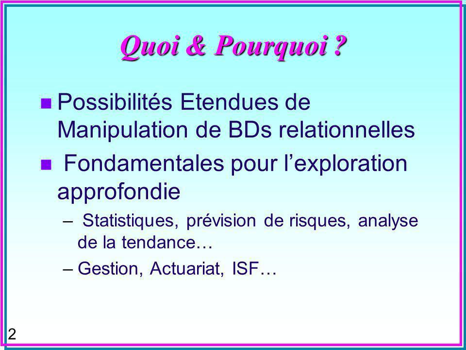 2 Quoi & Pourquoi .