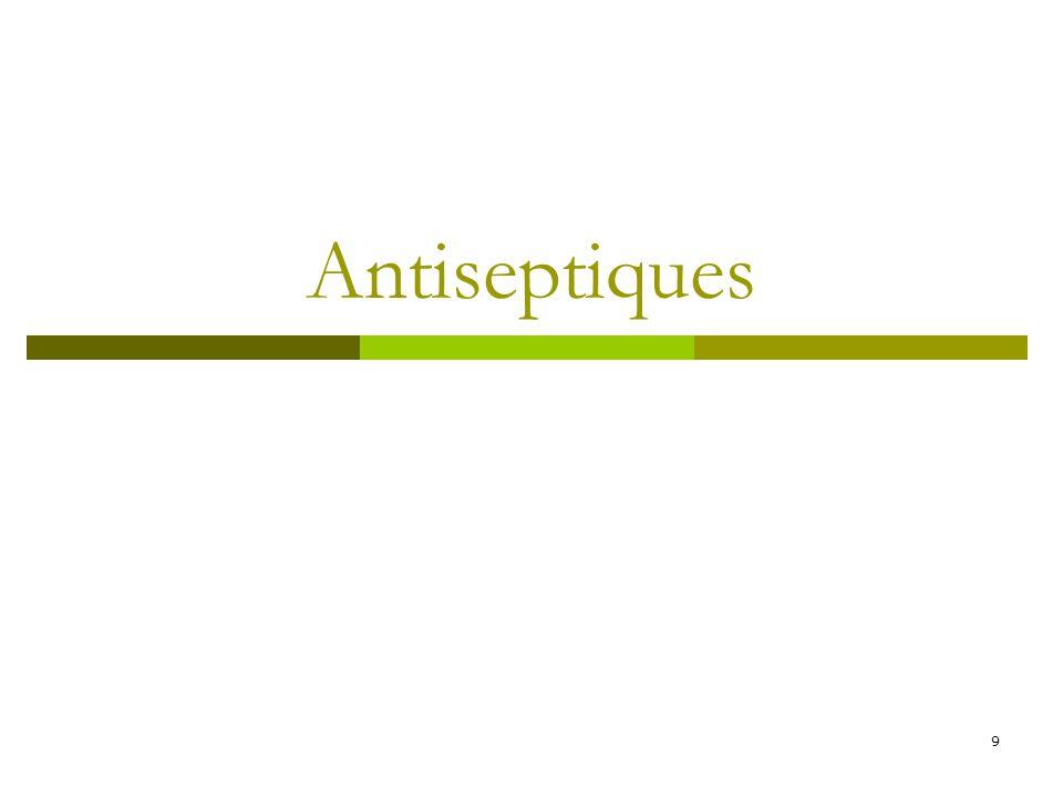 9 Antiseptiques