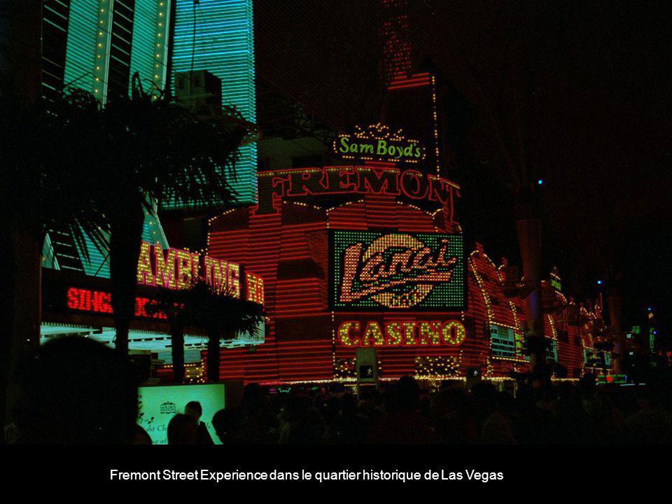 Fremont Street Experience dans le quartier historique de Las Vegas