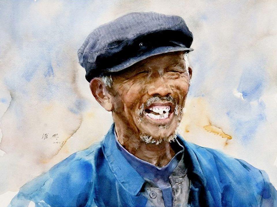 Guan Weixing est né en 1940, en Chine, dans la ville district de Dūnhuà dans la province de Jilin.