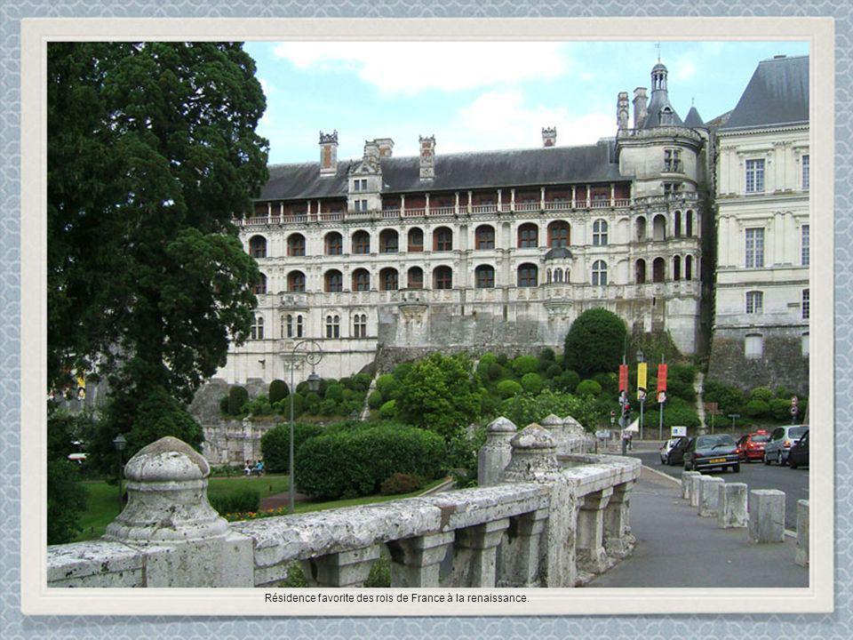 Résidence favorite des rois de France à la renaissance.