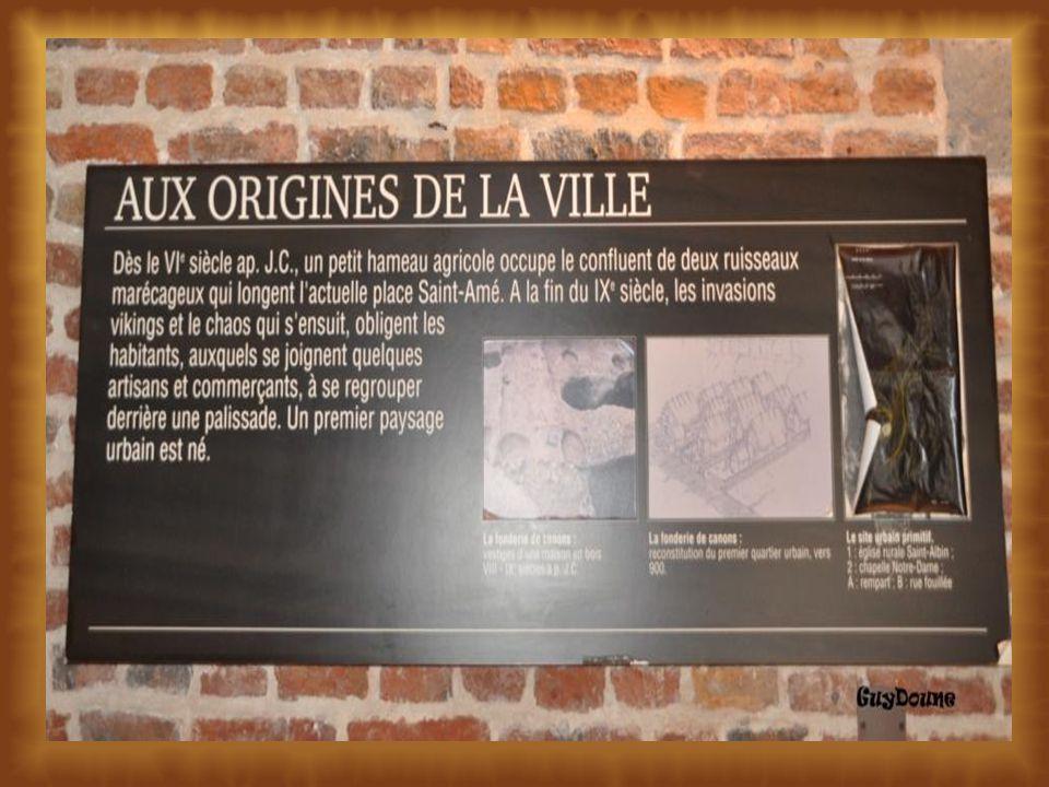 Origines de la ville de Douai Région Pas de Calais