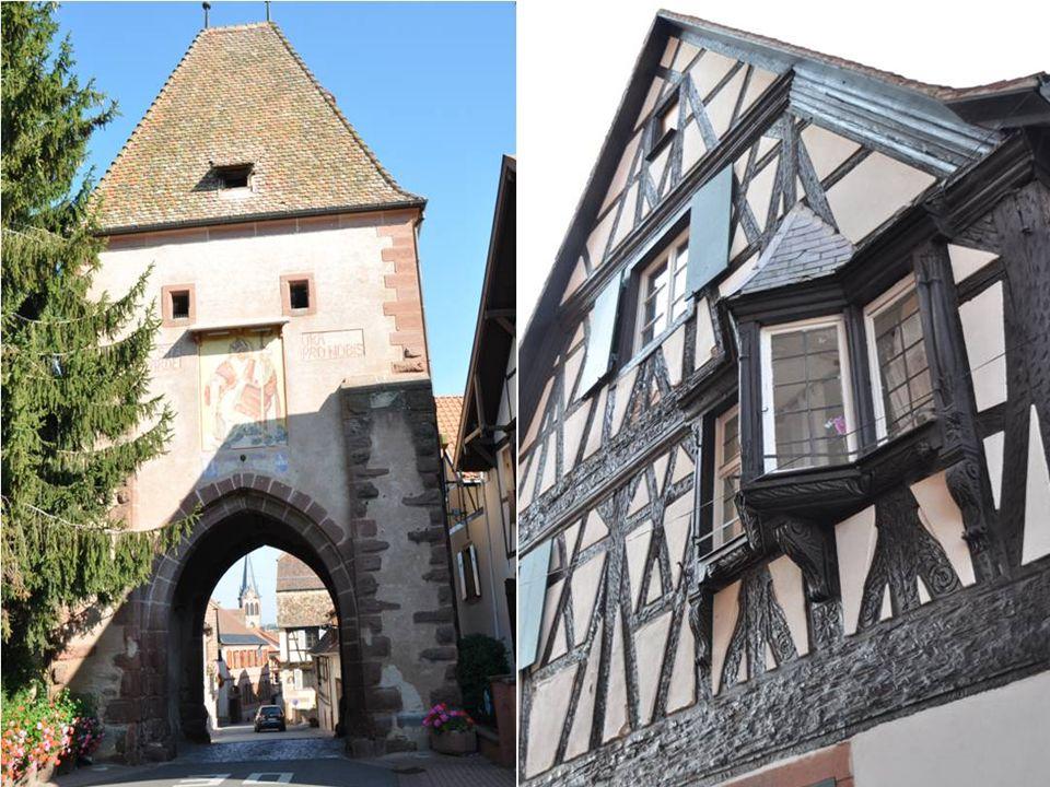 Fresque de la tour haute