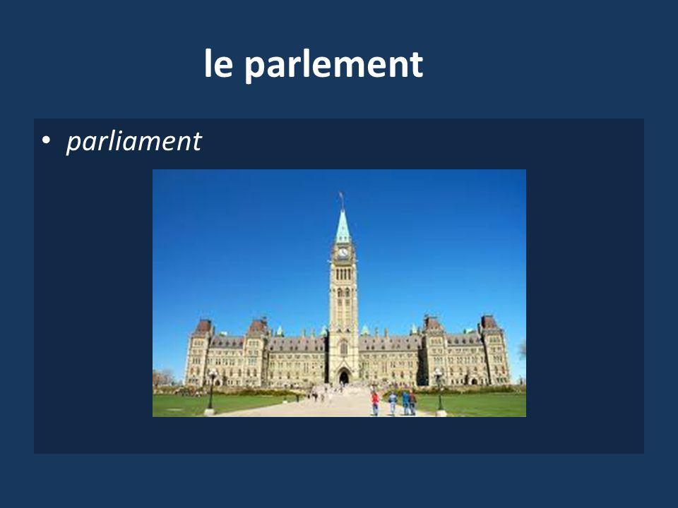 le parlement parliament