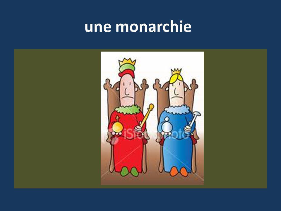 une monarchie