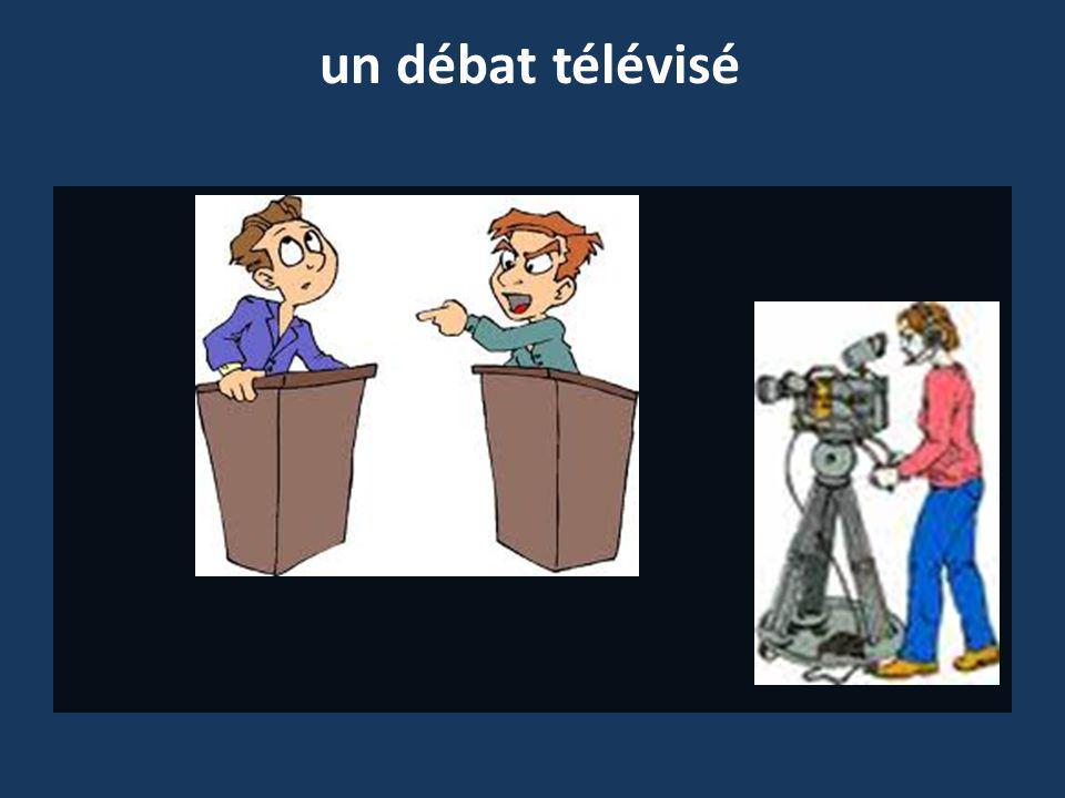 un débat télévisé