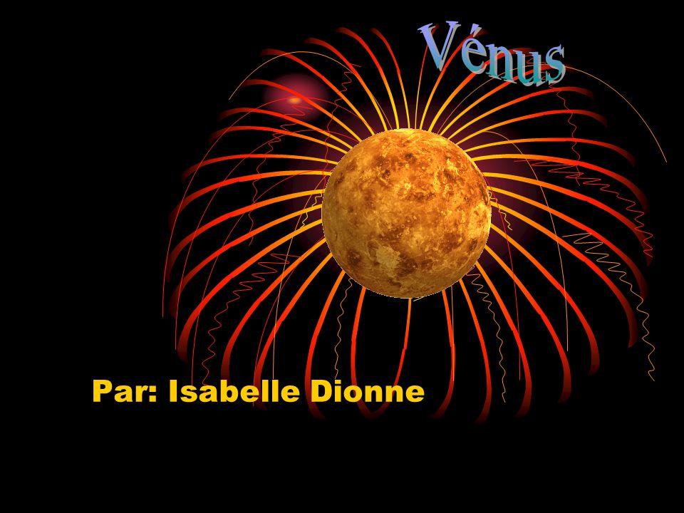 Rocheuse ou gazeuse Vénus est une planète rocheuse.