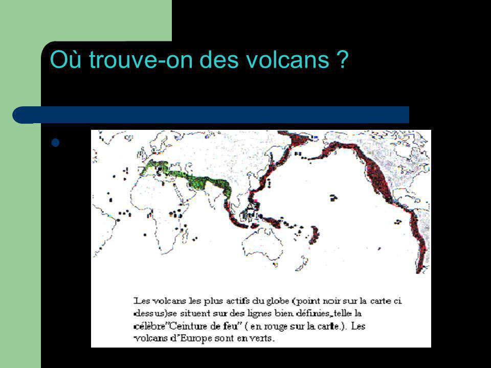 Conséquences d une éruption Lorsqu on voit des images d une éruption volcanique, on voit aussi des forêts, des villes et des villages détruits, brûlés, ensevelis par la lave ou les cendres.