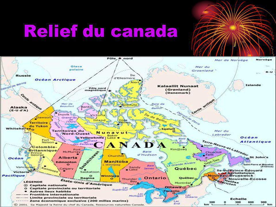 Relief du canada