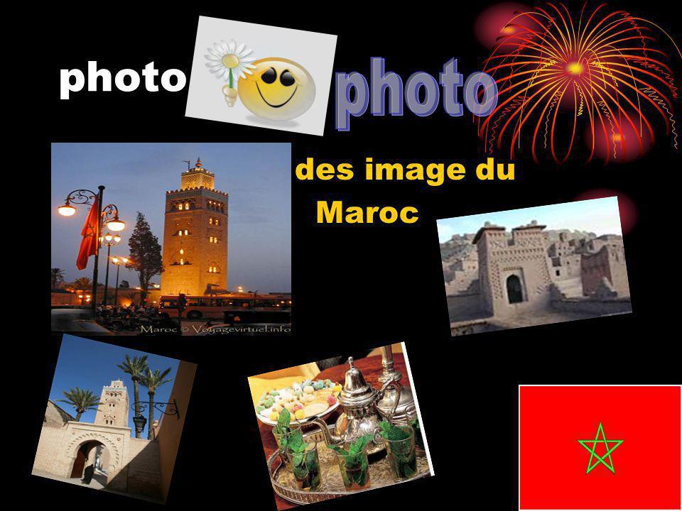 photo des image du Maroc