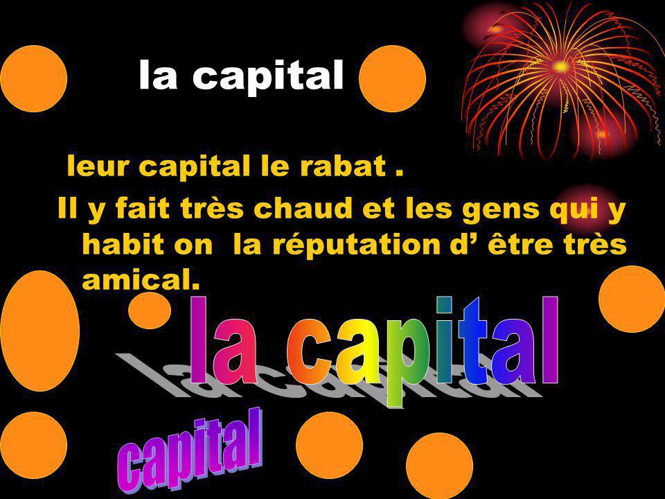la capital leur capital le rabat.