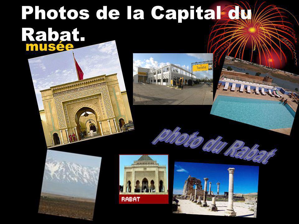 Photos de la Capital du Rabat. musée