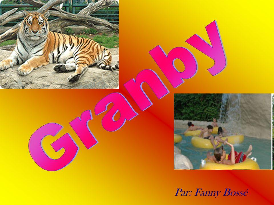 Granby Le 24 juillet 2003 mes voisins, ma famille et moi nous avons été au zoo et à l amazoo de Granby.