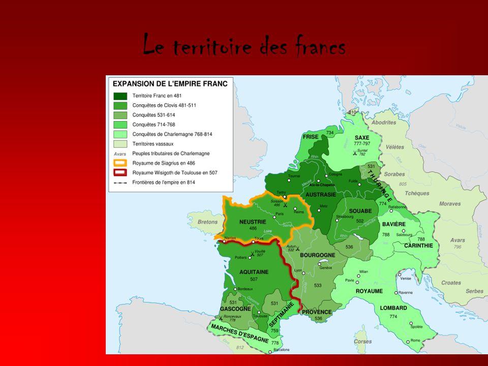 Le territoire des francs