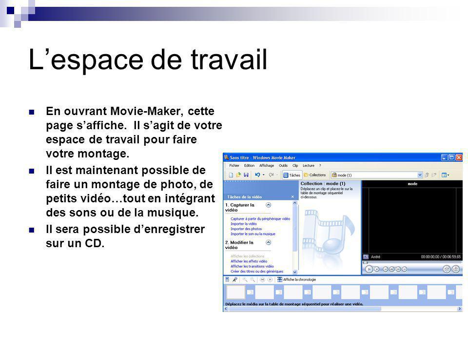 Capturer la vidéo Capturer à partir du périphérique vidéo Il est possible daller chercher des vidéos placés dans une vidéo-caméra.