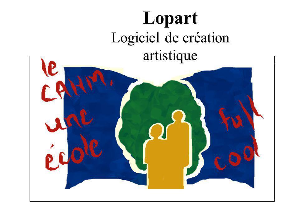 Lopart Logiciel de création artistique