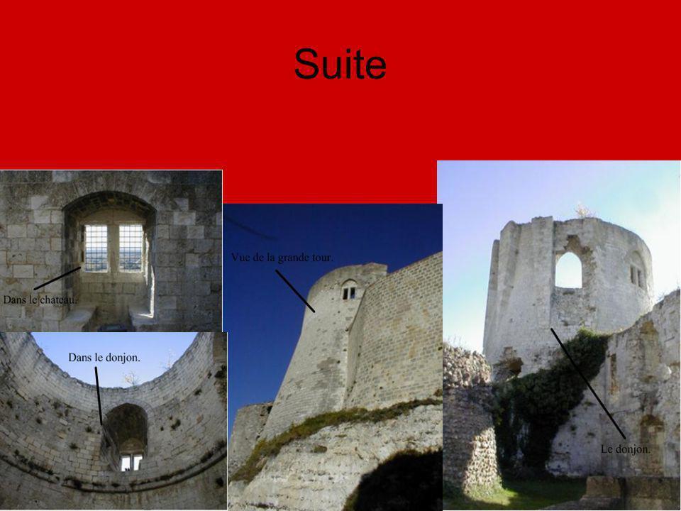 Maintenant, ce château est un centre de visite.